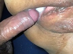 Latina Girlfriend Fucked & Creampied POV