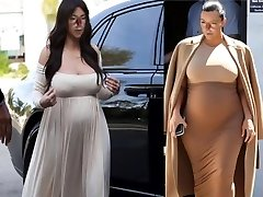Mind-blowing Pregnant Shemale Marisa Kardashian