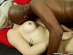 Ebony and white trannies