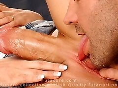Shocking, real, steaming pummeling futanari girls compilation by FutaCore
