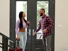 Unforgettable and passionate anal sex fun with bodacious French princess Anissa Kate