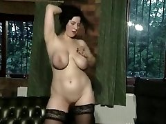 Buxom FC babe plays 01