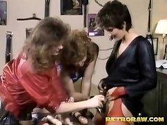 Three vibrator lovers