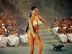 SNAKE DANCE - antique softcore dance tease (no nudity)
