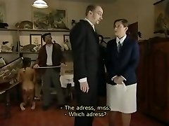Retro film in which Czech nubiles are being whipped