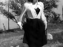 Quelque Chose De Bizarre Vintage Culotte Et Des Bas