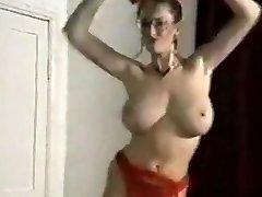 Echo beach bouncing big breasts strip dance tease