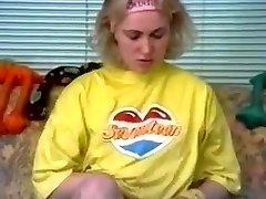 Retro school gal of the 70's part 1
