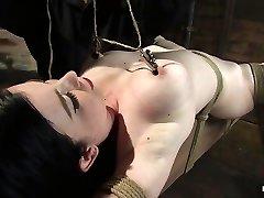 Sybil Hawthorne in Sybil Hawthorne: Retro Hottie Luvs Pain To Get Off - Hog Tied