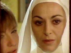 Nun seduced by girl/girl!