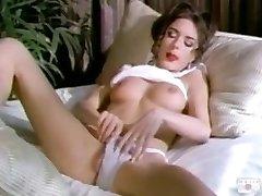Rebecca Lord masturbate on sofa