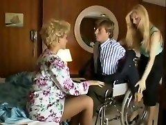 Sharon Mitchell, Jay Pierce, Marco in antique sex vignette