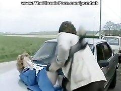 Accident video of hard outdoor fuckfest