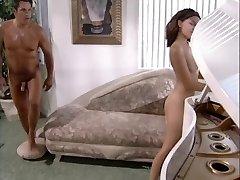 Fancy brunette fucks her piano teacher
