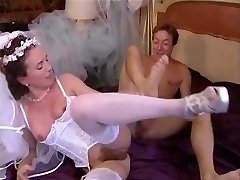 Bride plumbed and fisted