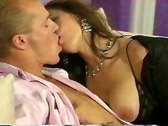 Romantic couple fucking hard at home