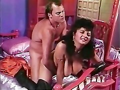Paki Aunty is tired of Lil' Asian Paki Shaft so heads for Big Western Cock