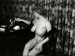Saucy Smokin Milf from 1950's