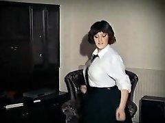 WHOLE LOTTA ROSIE - vintage xxl tits college girl strip dance
