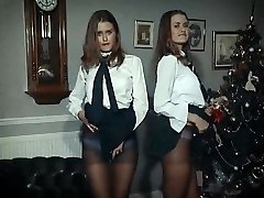 XMAS Joy - twin beauties disrobe & tease