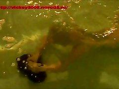 Underwater Restrain Bondage.  Breathholding.