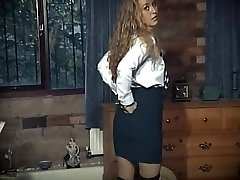 British school girl uniform striptease