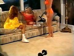 Horny pornstars Francesca Le and Crystal Nastier in exotic hardcore, three-ways sex video