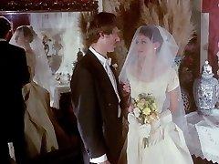 gloved handjob antique wedding scene