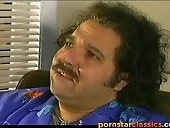 Classic pornographic star Letha Weapons in an explicit hardcore video