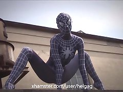 Real Spider-Woman super flexible - by Helga