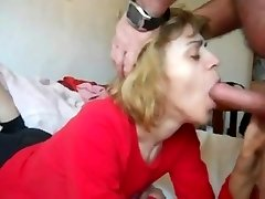 mom in mouth-shag n cum swallow action