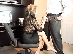 Hot Cougar Office Oral