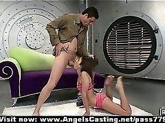 Amateur flexible redhead slut showing her brilliant bod