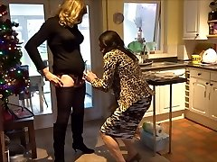 Alison and Zara - Anal Invasion action - Real life crossdressers
