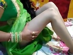 just married bride Saree in utter HD desi video home mast chu