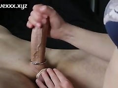 CONTROL ORGASM HANDJOB Numerous CUMS really nice dame