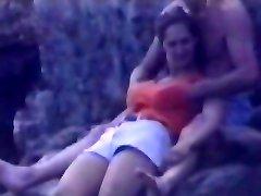 Candid beach camera filmed a sexy vixen