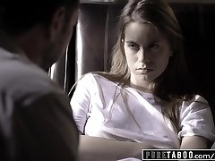 Unspoiled TABOO Jill Kassidy Tricked into Romp by Doctor