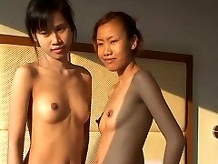 Innocent Thai cutey Saori Barely Legal gets fingered