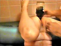 Tuck the brandy bottle in anal