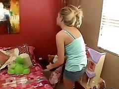 Teenage Babysitter Gets Fucked