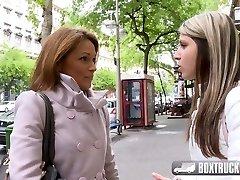 Hot Szilvia Lauren astonished by the lesbian model agent