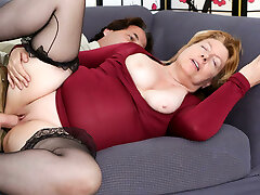 Penny Sue & Eric John in Horny Grannies Love To Fuck #12 - DevilsFilm