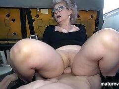 Veronique Horny Grandma Cant Wait For You