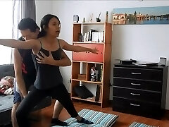 Yoga instructor gets fucked by super-fucking-hot student