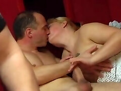 Horny couples drill really hard together
