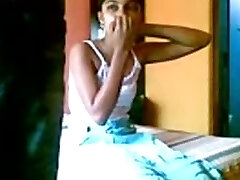 Indian Couple Gargling And Using Fucking Cream