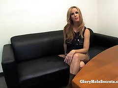 Gloryhole Secrets Tabitha MILF cum swallowing