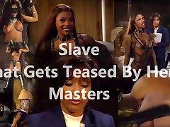 Escravo que é provocado por seu mestrado