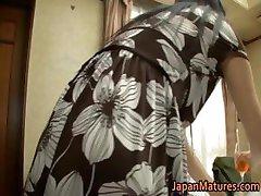 Japanese mature lady has sex part3